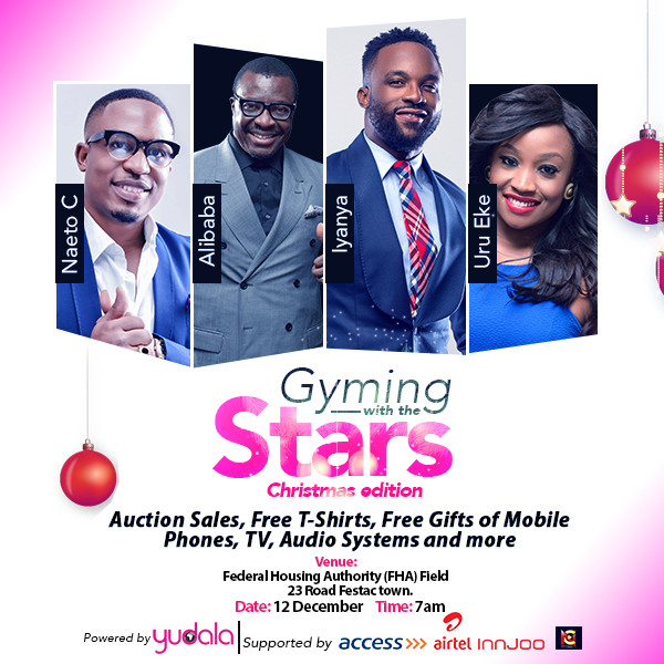 Gyming with the Stars - Social Media copy