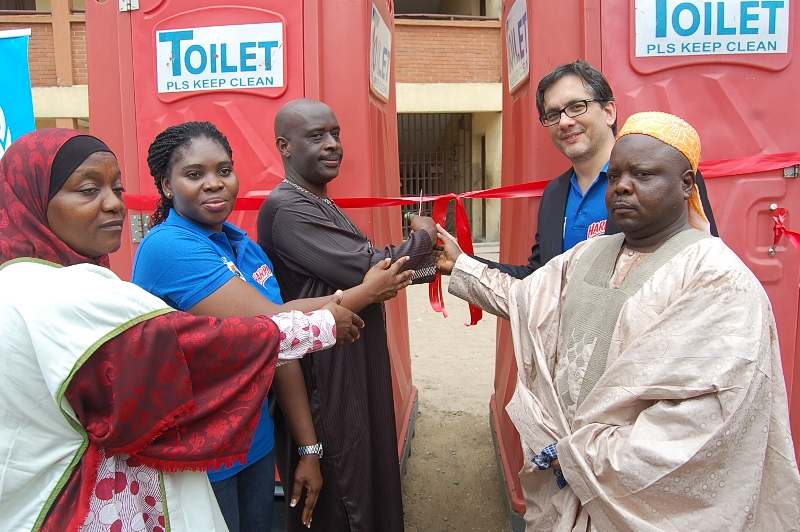 H1 Harpic Mobile Toilet Donations