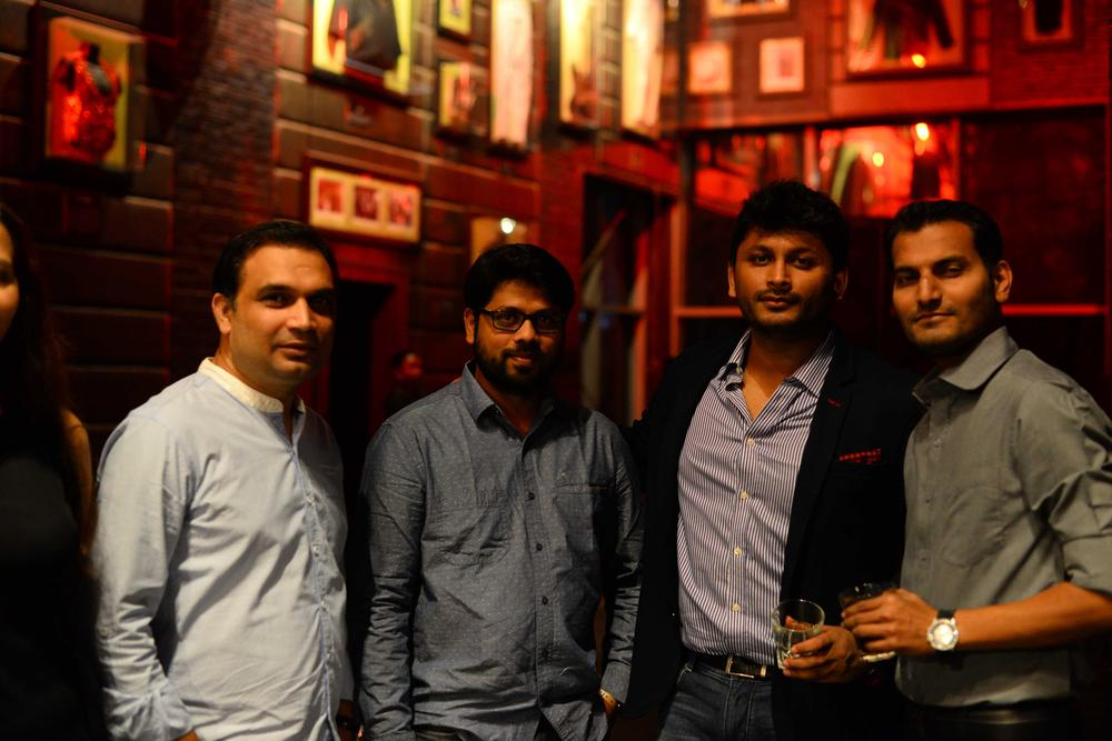 Hard Rock Cafe Lagos Launch BellaNaija Aditya Shirish and Nitin