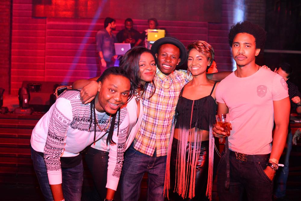 Hard Rock Cafe Lagos Launch BellaNaija Cool TV crew
