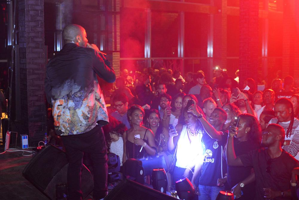 Hard Rock Cafe Lagos Launch BellaNaija Davido performing