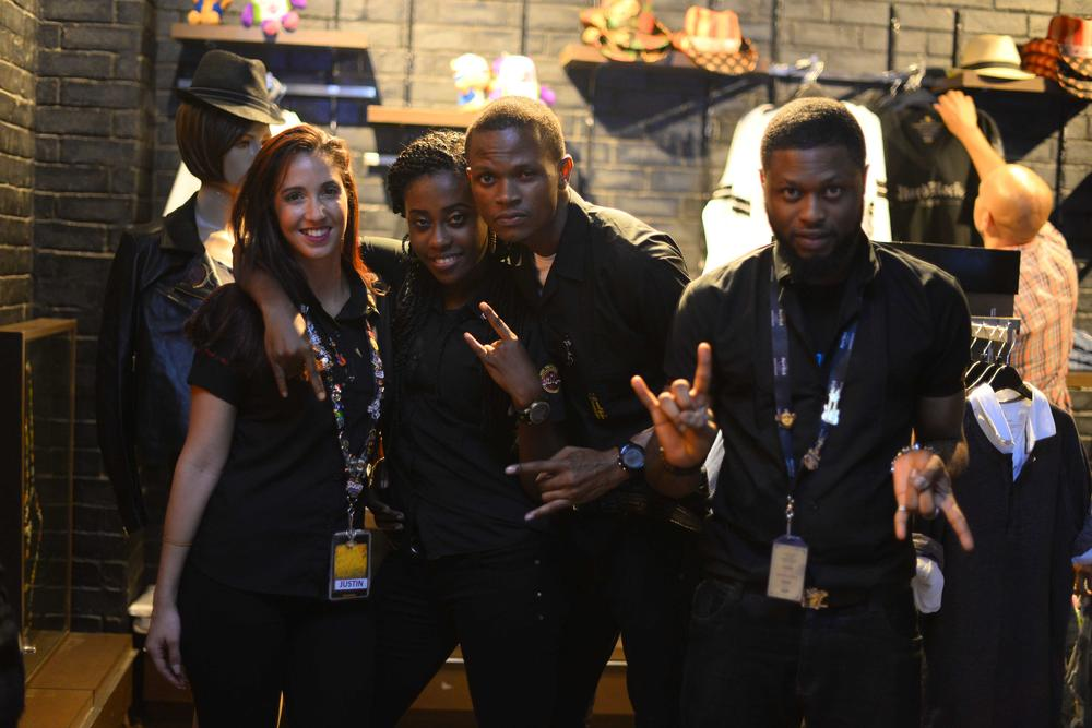 Hard Rock Cafe Lagos Launch BellaNaija Friendly HRC stars