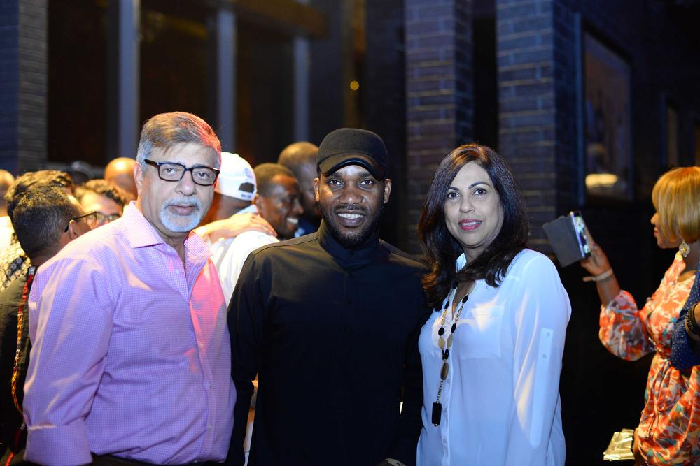 Hard Rock Cafe Lagos Launch BellaNaija Jay Jay Okocha n Sunil Sawhney