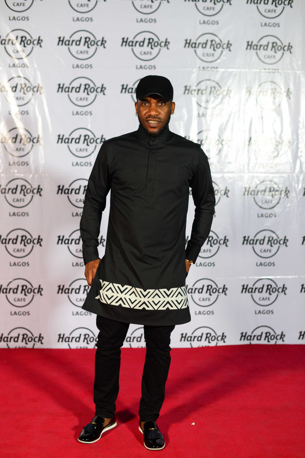 Hard Rock Cafe Lagos Launch BellaNaija Jay Jay Okocha.
