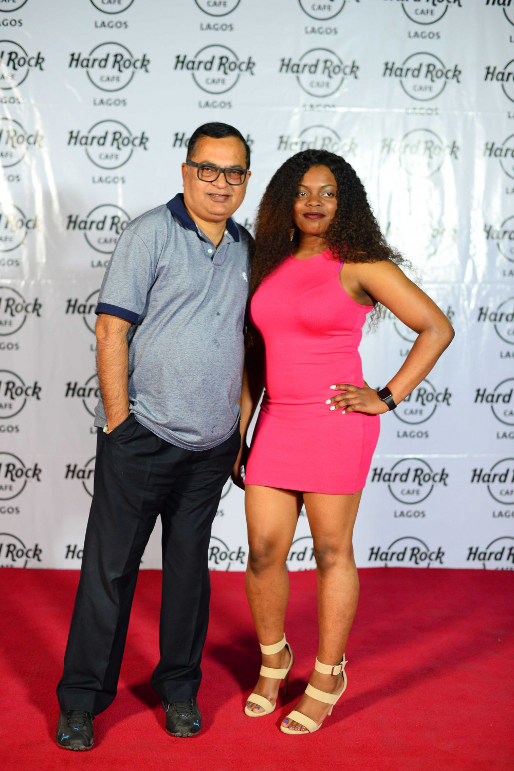 Hard Rock Cafe Lagos Launch BellaNaija Red Carpet