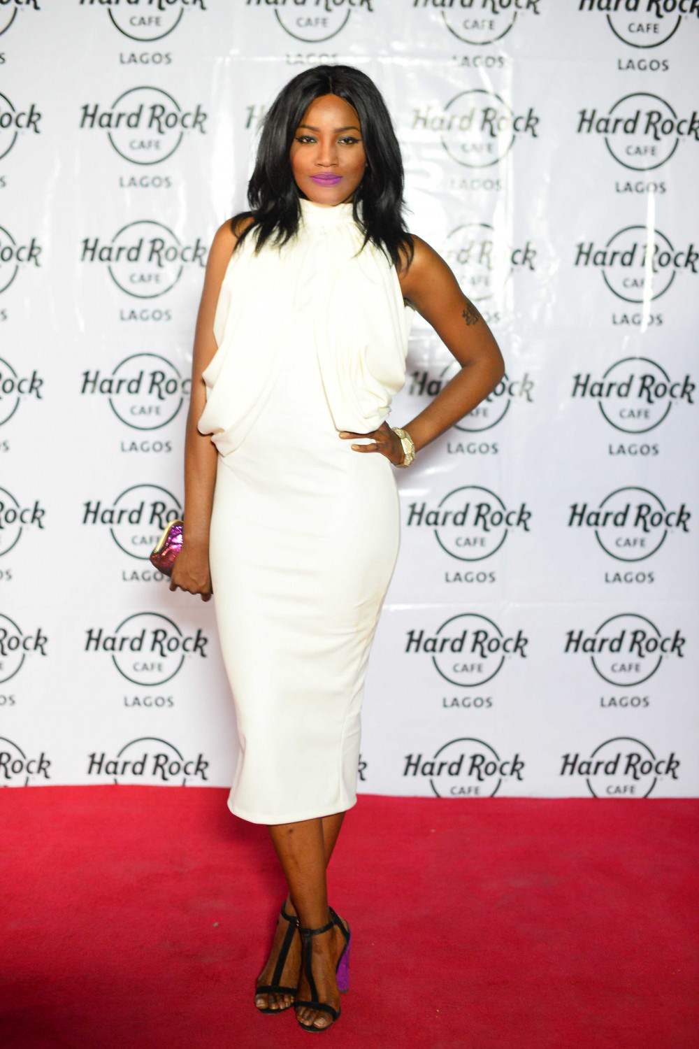 Hard Rock Cafe Lagos Launch BellaNaija seyi shay..
