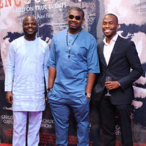 Idris Olorunimbe, Don Jazzy and Babatunwa Aderinokun