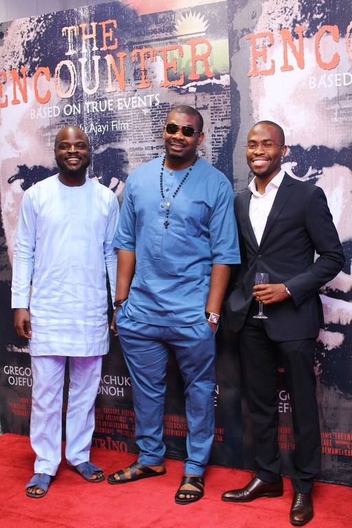 Idris Olorunimbe, Don Jazzy and Babatunwa Aderinokun