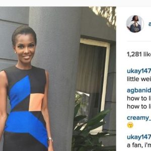 Instagram photo by Agbani Darego • Nov 29  2015 at 1 09 PM copy