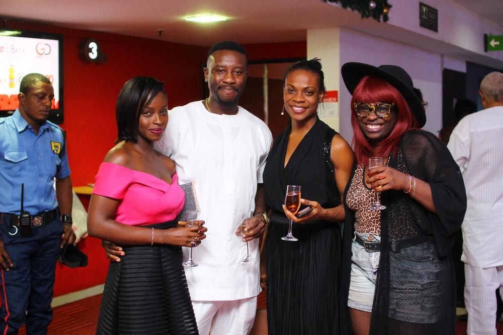 Itoro Okon, Omoruyi Irabor, Tolu Dada and Motara Thomas