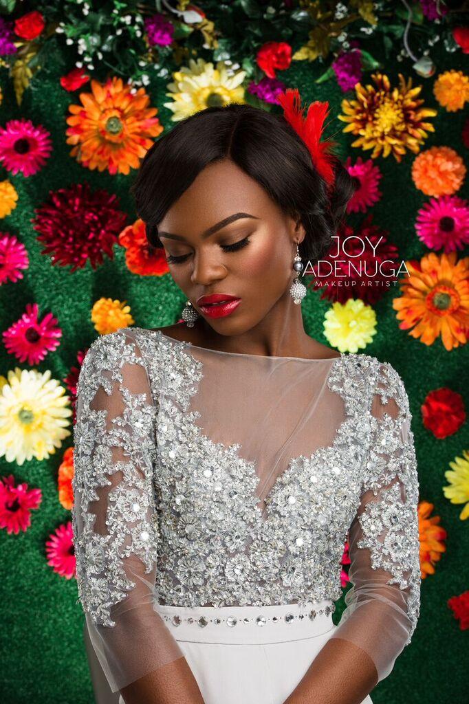 Joy Adenuga Bridal Beauty Shoot - BellaNaija - December 2015