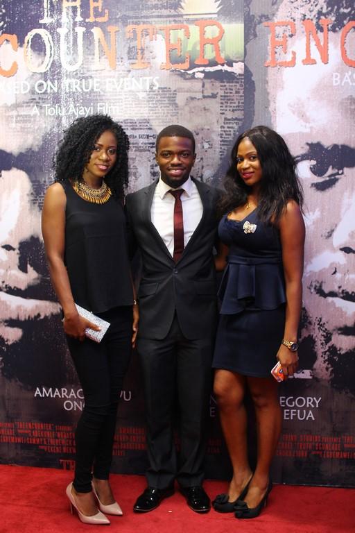 Joy Adeyemi, Amarachukwu Onoh and Euginia Obidiagha