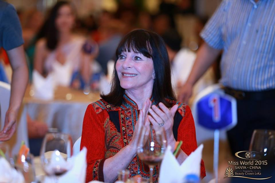 Julia Morley, Miss World CEO