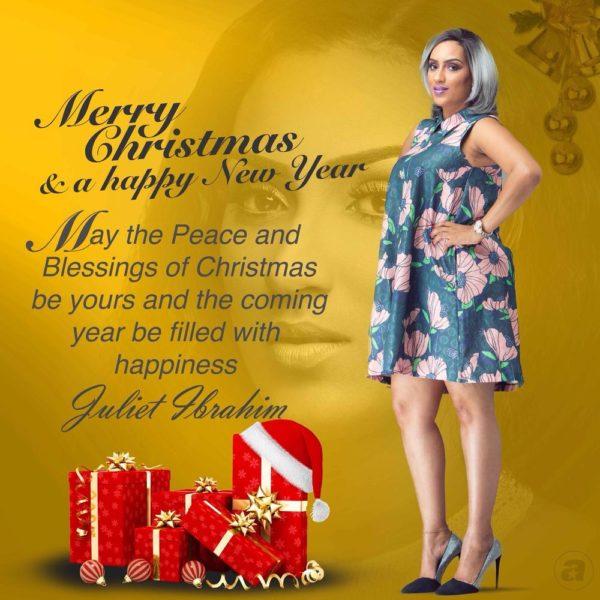 Juliet Ibrahim's Seasons Greetings 5
