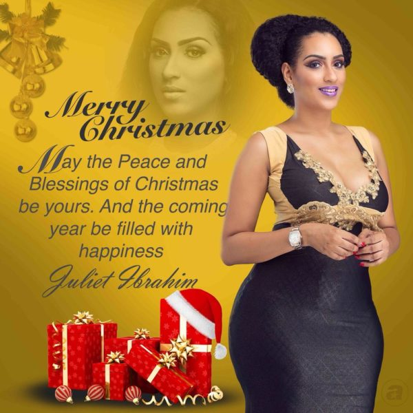 Juliet Ibrahim's Seasons Greetings 6