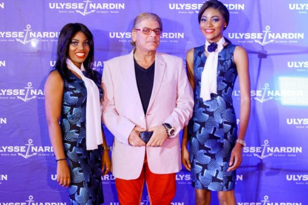 Julius Rone Ulysse Nardin and ZAKAA Abuja Launch