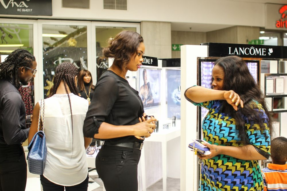 Lancôme 3 Axe with Labisi Folawiyo - BellaNaija - December2015003