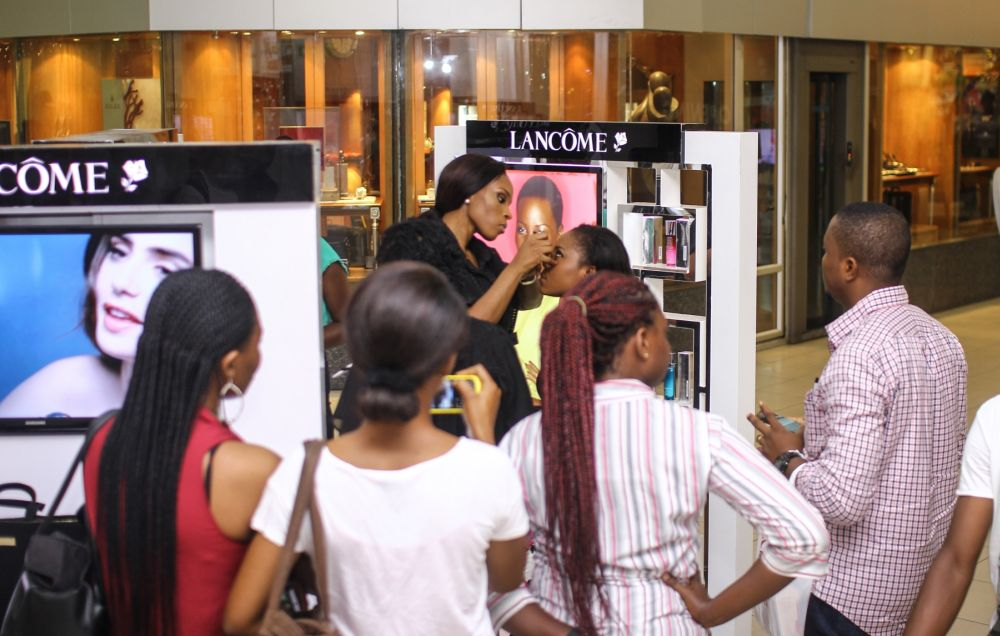 Lancôme 3 Axe with Labisi Folawiyo - BellaNaija - December2015005