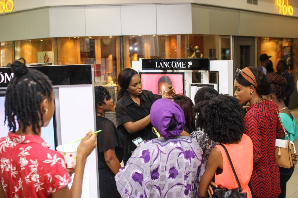 Lancôme 3 Axe with Labisi Folawiyo - BellaNaija - December2015006
