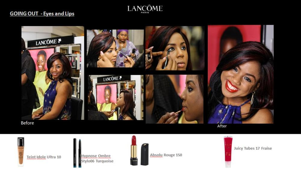 Lancôme 3 Axe with Labisi Folawiyo - BellaNaija - December2015013
