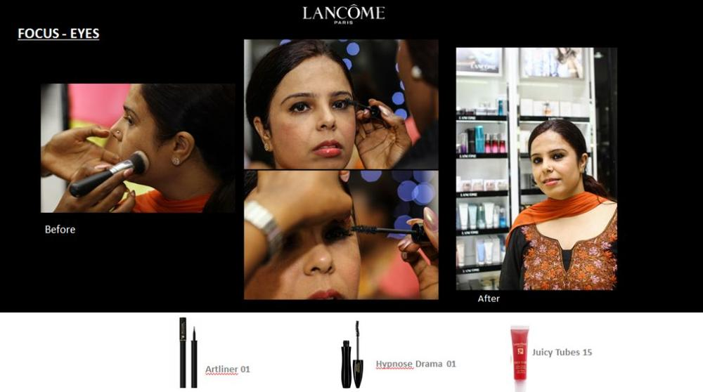 Lancôme 3 Axe with Labisi Folawiyo - BellaNaija - December2015014