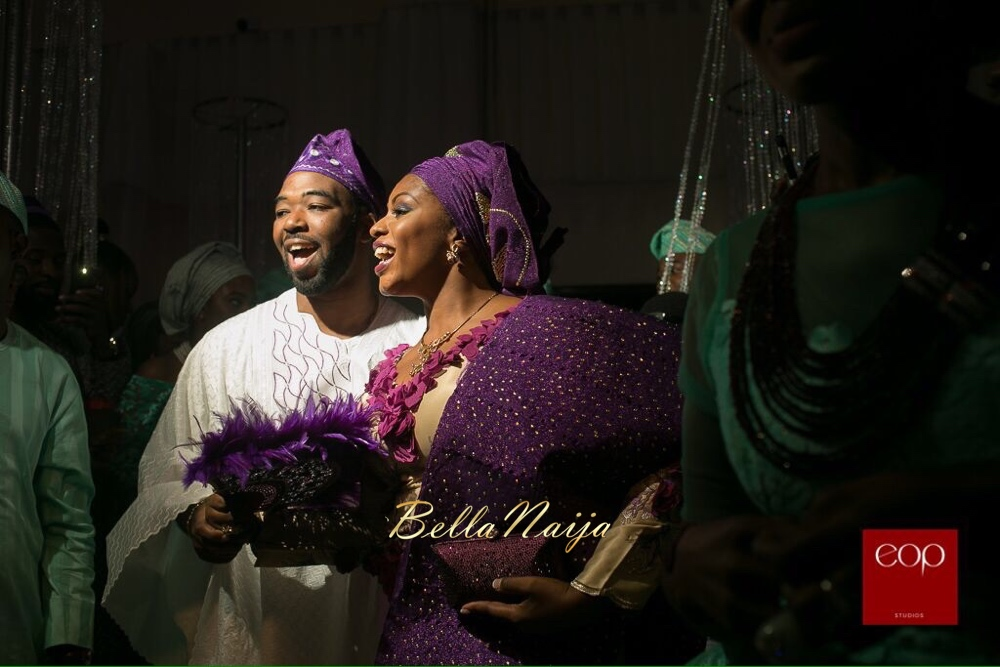 Liz Awoliyi and Tosin Osho_Traditional Yoruba Engagement in Ikeja, Lagos, Nigeria_BellaNaija Weddings 2015_image1 (1)