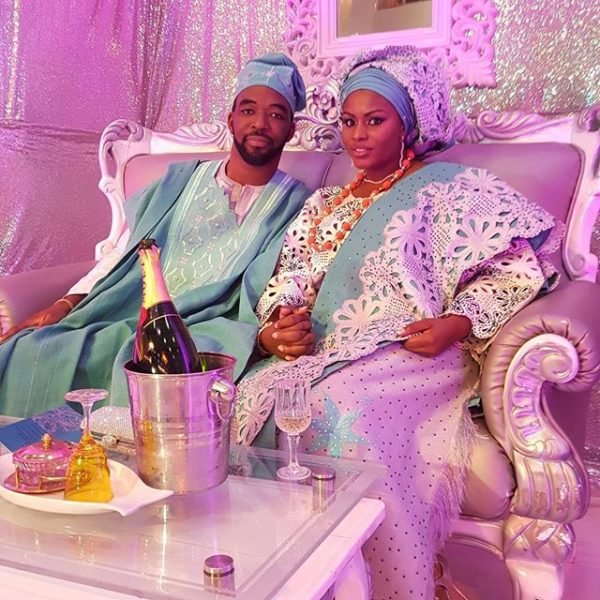 Nigerian Traditional Yoruba Wedding: First Look At Liz Awoliyi & Tosin Osho's Wedding &