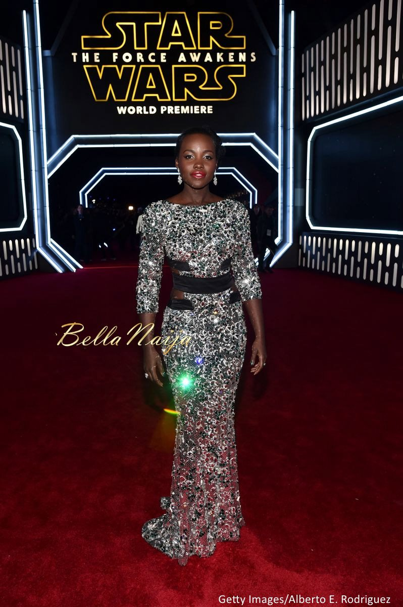 Lupita Nyong'o at the Star Wars Premiere - BellaNaija - December2015001