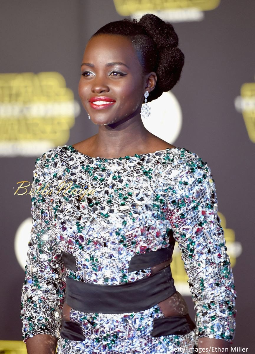 Lupita Nyong'o at the Star Wars Premiere - BellaNaija - December2015003