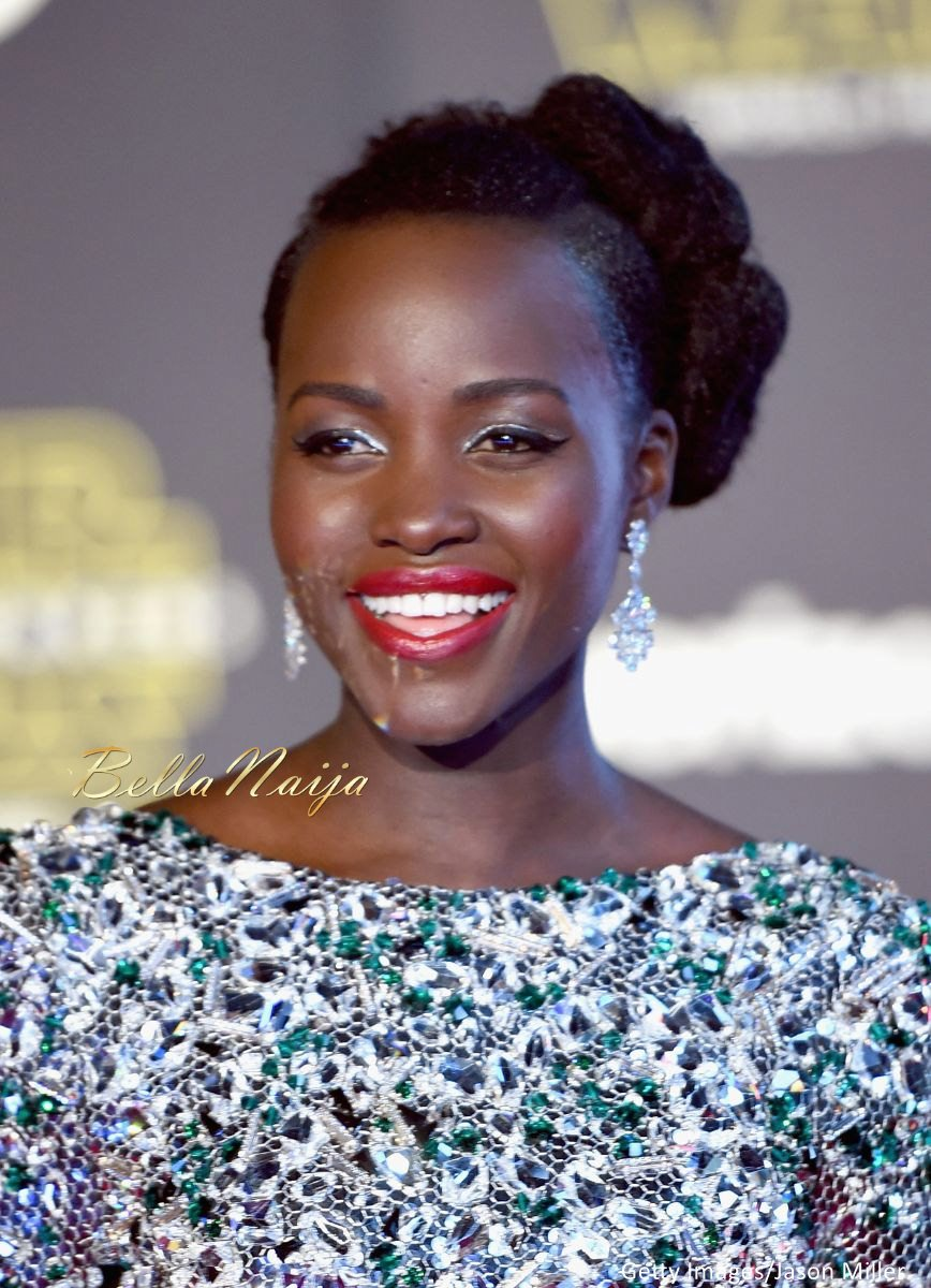 Lupita Nyong'o at the Star Wars Premiere - BellaNaija - December2015004