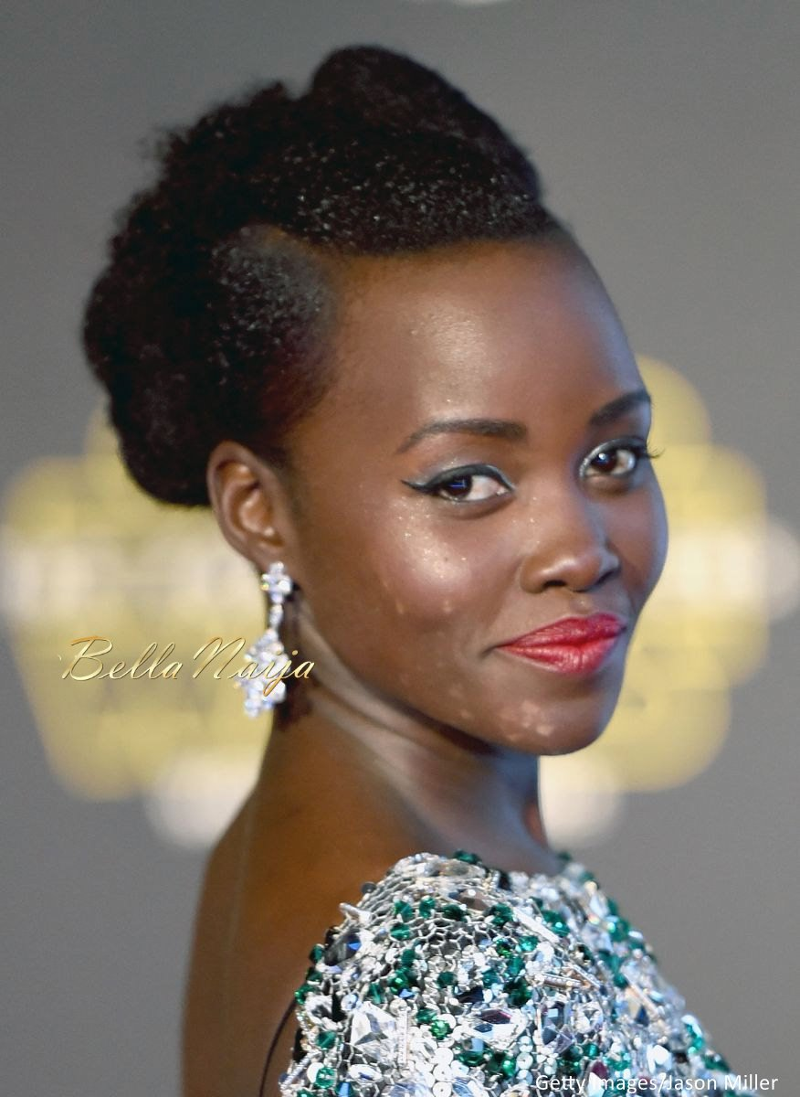 Lupita Nyong'o at the Star Wars Premiere - BellaNaija - December2015005