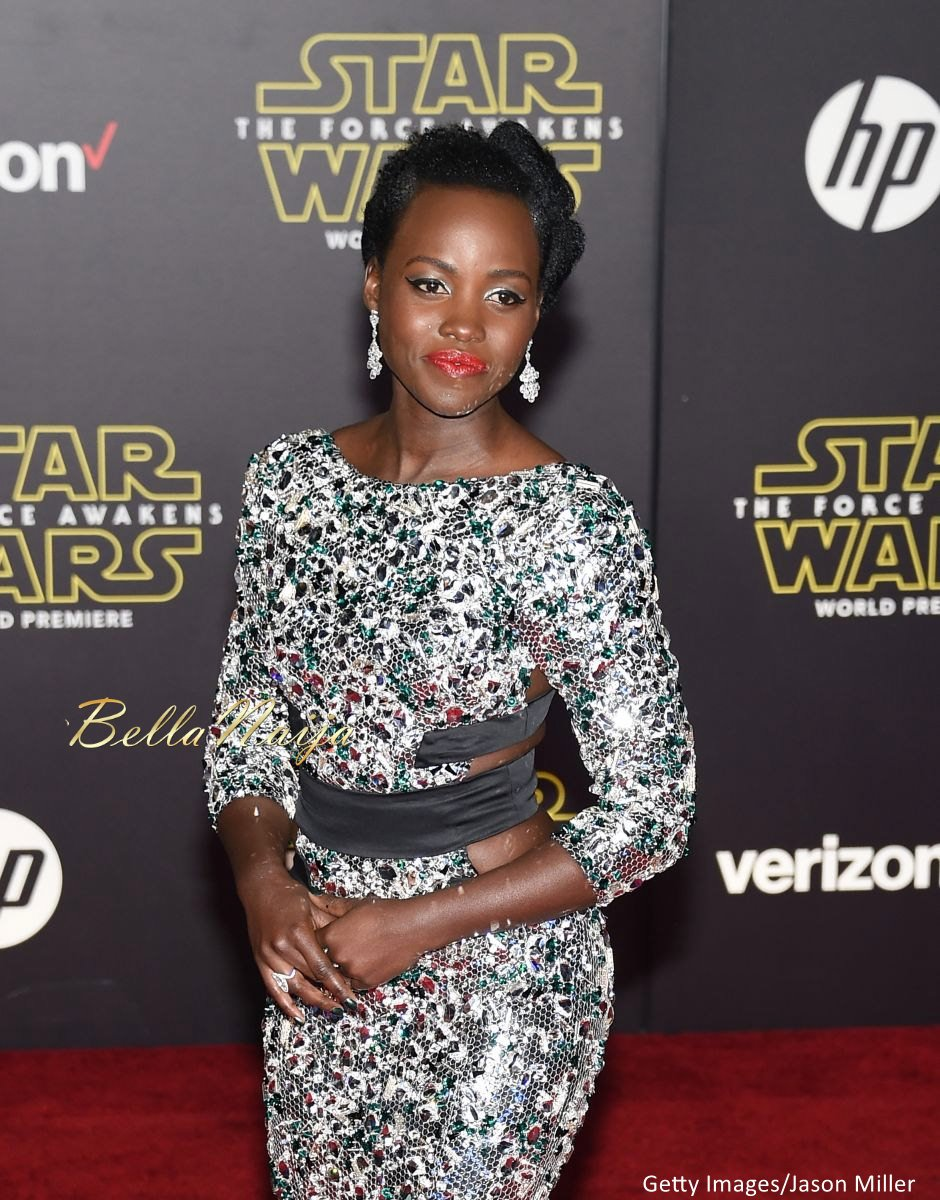 Lupita Nyong'o at the Star Wars Premiere - BellaNaija - December2015006