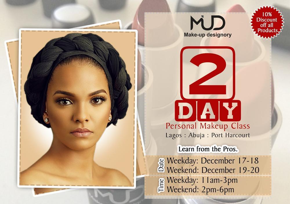 MUD Personal Makeup Classes