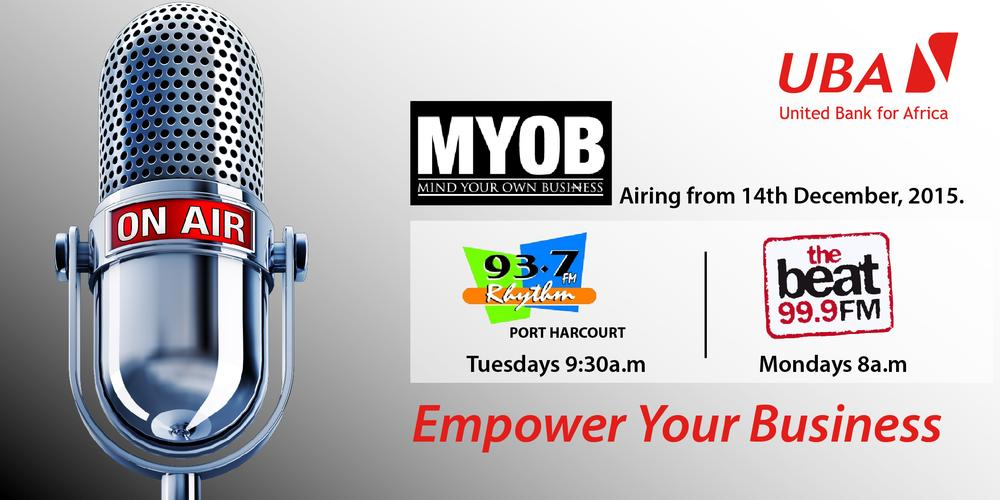 MYOB - Mind Your Own Business Radio Show