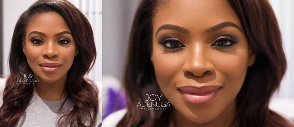 Marcy Dolapo Oni with Makeup by Joy Adenuga - BellaNaija - December 2015003
