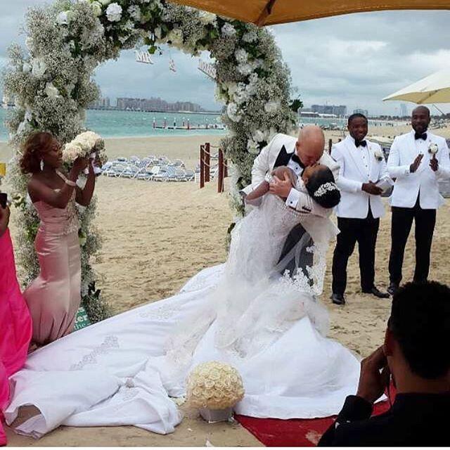Mariam Adeyemi & John Timmer_Dubai Wedding_Boxing Day 2015_BellaNaija 4