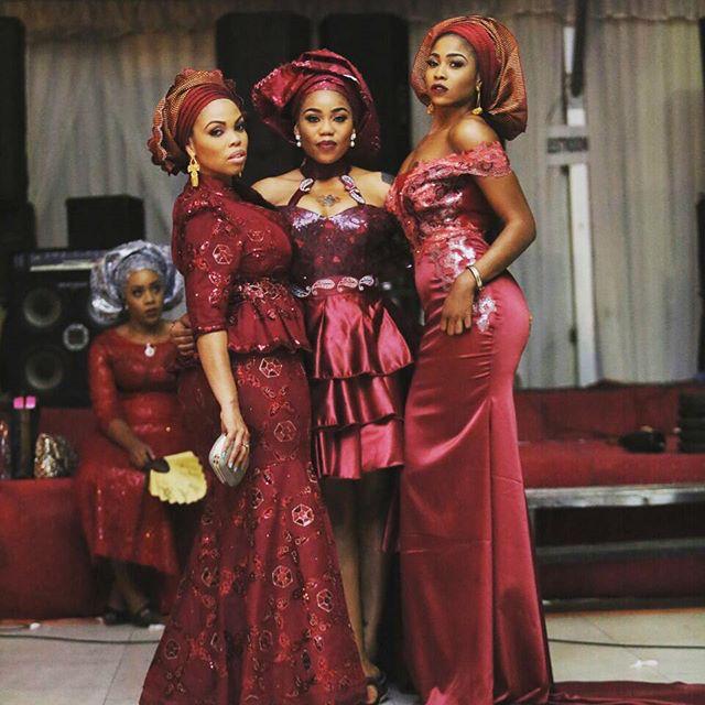 Mariam Adeyemi & John Timmer's Traditional Engagement_Lagos, Nigeria_ December 2015_Toyin Lawani