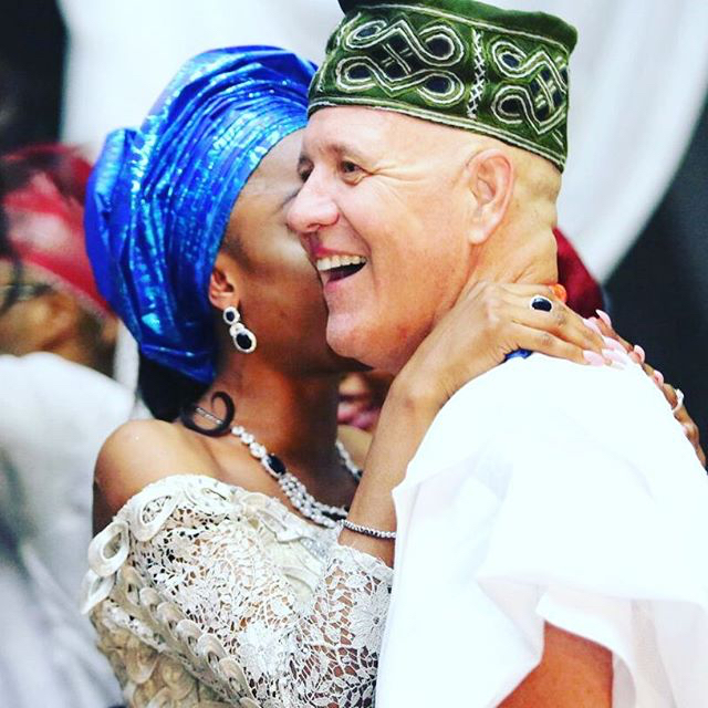 Mariam Adeyemi & John Timmer's Traditional Engagement_Lagos, Nigeria_ December 2015_John Timmer and Mariam Adeyemi
