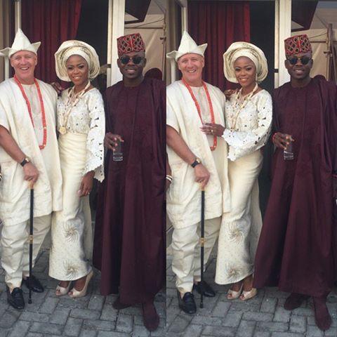 Mariam Adeyemi & John Timmer's Traditional Engagement_Lagos, Nigeria_ December 2015_King Hakbal, Mariam Adeyemi, John Timmer