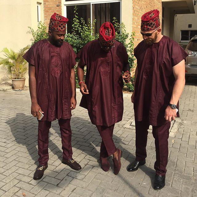 Mariam Adeyemi & John Timmer's Traditional Engagement_Lagos, Nigeria_ December 2015_King Hakbal