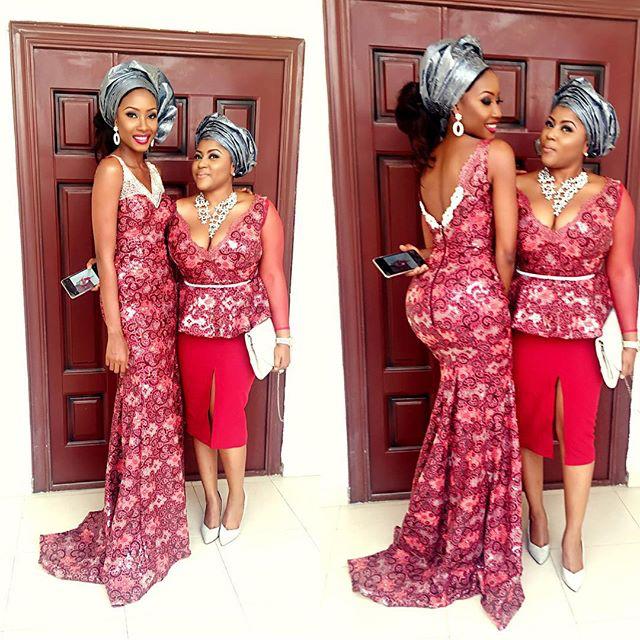 Mariam Adeyemi & John Timmer's Traditional Engagement_Lagos, Nigeria_ December 2015_Ronke Tiamiyu, Michelle Young