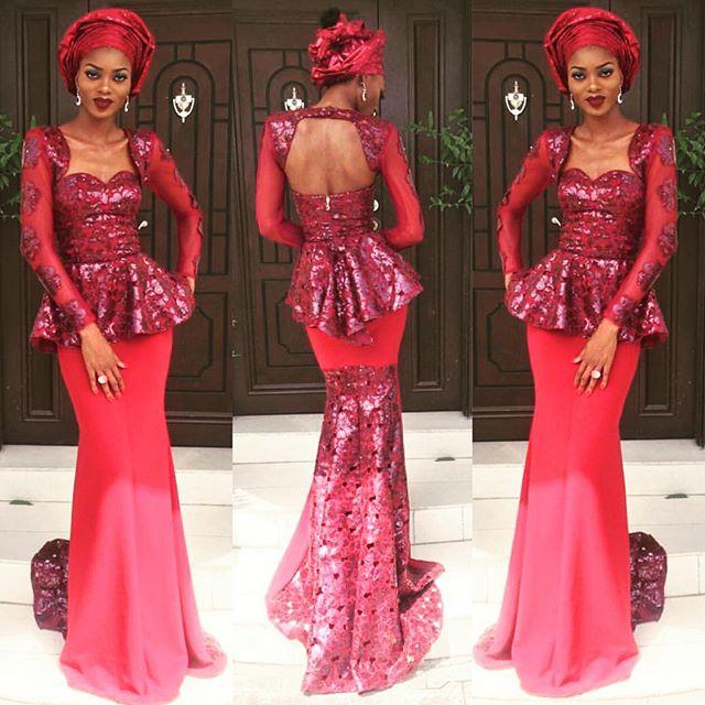 Mariam Adeyemi & John Timmer's Traditional Engagement_Lagos, Nigeria_ December 2015_Tarmar Awobotu