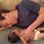 Max and Mark Zuckerberg