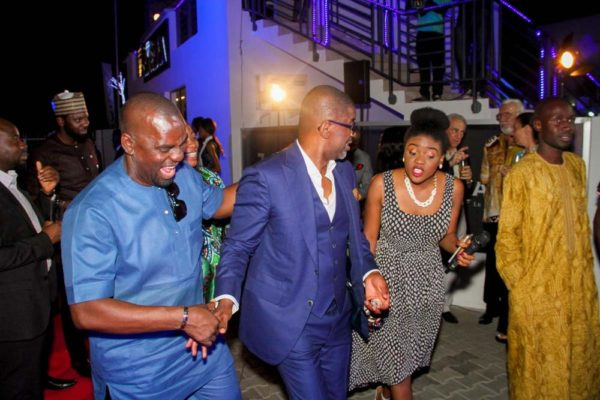 Micheal, Deremi and Enitan Ulysse Nardin and ZAKAA Abuja Launch