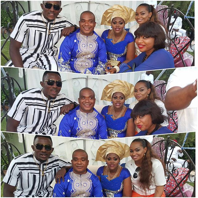 Mike Ezuruonye, Chioma Akpotha & Patience Ozokwor Ikechukwu Odife Wedding 4