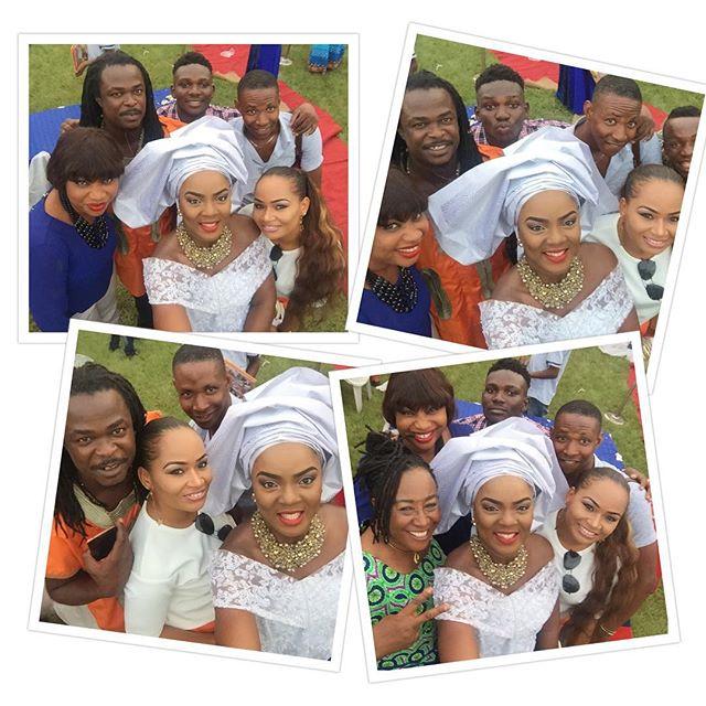 Mike Ezuruonye, Chioma Akpotha & Patience Ozokwor Ikechukwu Odife Wedding 5