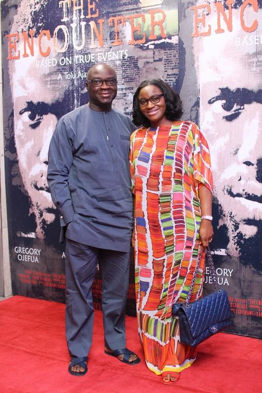 Mr and Mrs Jide Ogundare