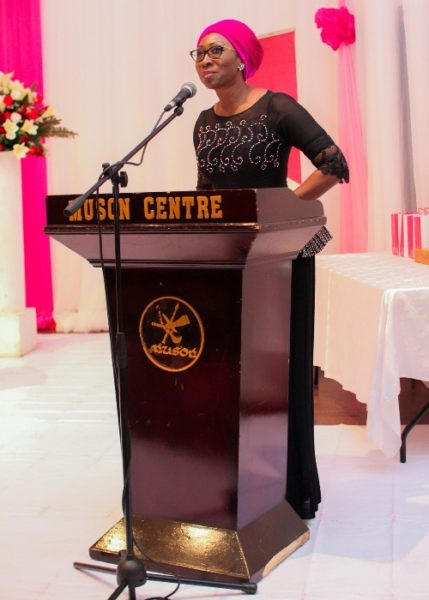 Mrs. Amina Oyagbola, Founder Women in Sucessful Careers (WISCAR)