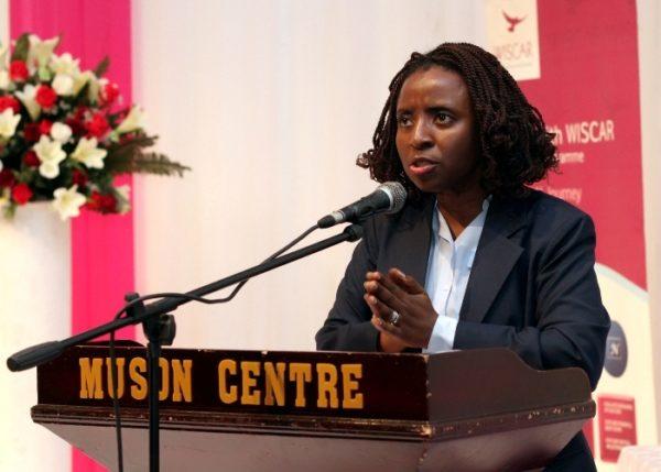 Mrs. Ifueko Omoigui Okauru, former FIRS Executive Chairperson giving keynote speech