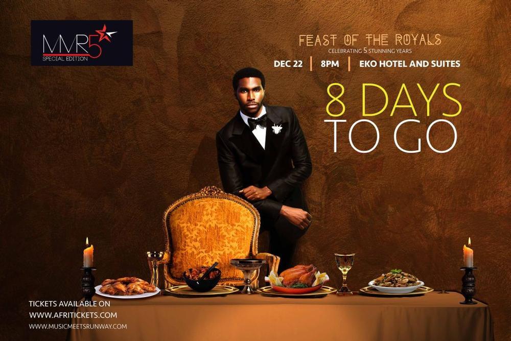 Music Meets Runway Five Star Feast of Royals - BellaNaija - December 2015